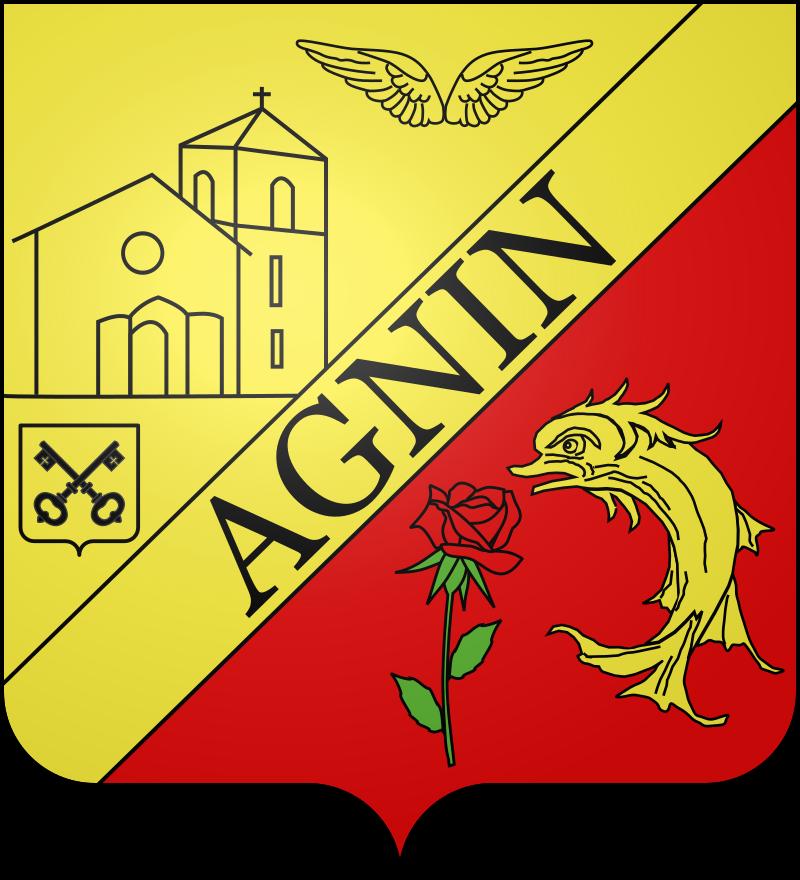Blason de Agnin